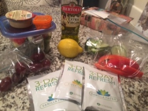 Meal Prepping and Planning is KEY on this 3-Day Refresh!