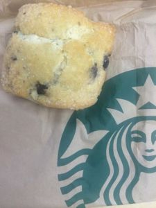 This scone started my day FULL OF CRAVINGS!!!  Appreciated, but hard to not eat!